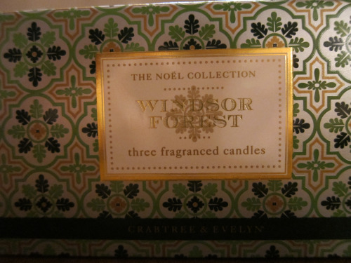 Crabtree & Evelyn Windsor Forest Candles