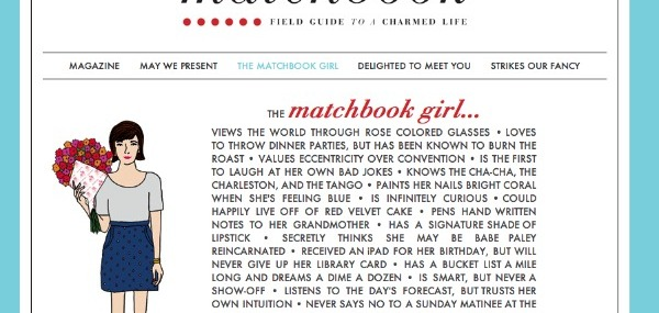 Are You A Matchbook Girl?
