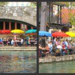 San Antonio Riverwalk collage