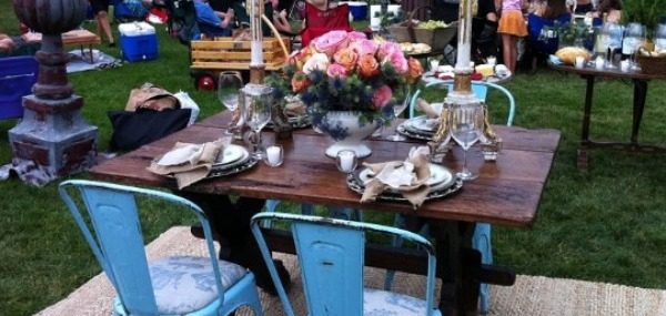 Posh Picnics and Pink Martinis