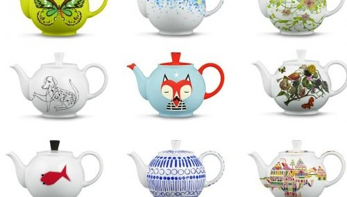 12 Months of Teapots